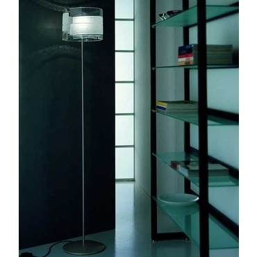 Riflessi Floor Lamp by Av Mazzega | TE 5032-CL