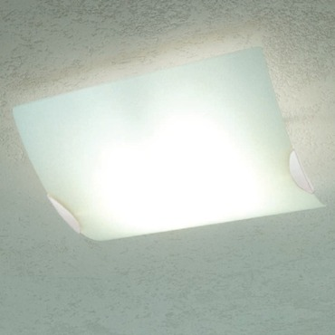 White Ceiling Light by Av Mazzega | PL 2061