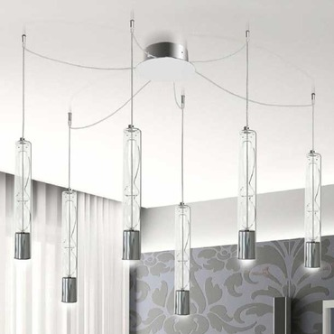 Settecento Multi Light Suspension by Av Mazzega | SO 3144-CL