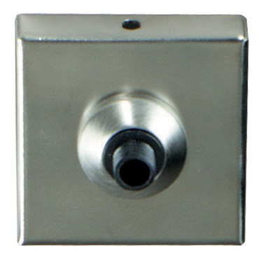 FreeJack Port with 2 inch Square Canopy  by Tech Lighting | 700FJFCP2SS