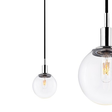 Orb 1-light Pendant by Sonneman A Way Of Light | 4591.01C