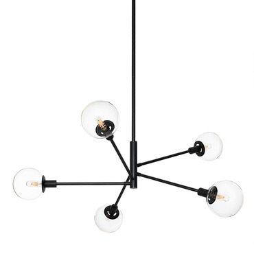 Orb 5-light Pendant