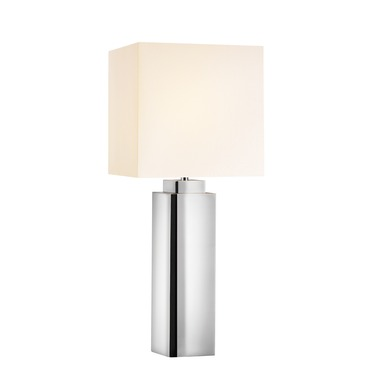 Mirror Square Table Lamp