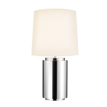Mirror Round Table Lamp