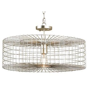 Dusklight Semi Flush Ceiling Light by Currey and Company | 9303-CC