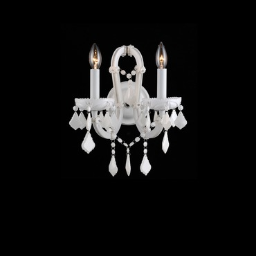 Casablanca Way Wall Light by Avenue Lighting | HF1041-WHT