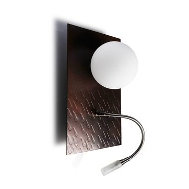 Lluna Wall Sconce by Lightology Collection | LC-0923/02-CO