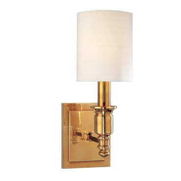 Whitney Wall Sconce by Hudson Valley Lighting | 7501-AGB