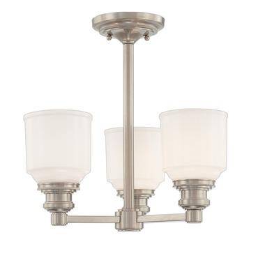 Windham Semi Flush by Hudson Valley Lighting | 3413-SN