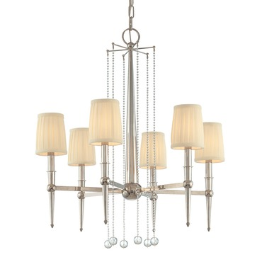 Laurel Chandelier by Hudson Valley Lighting | 6016-PN