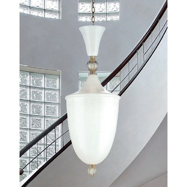 Lanterna Suspension by Av Mazzega   9013-WH