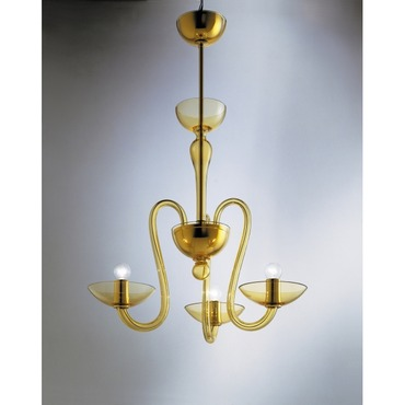 Medusa 3-light Suspension by Av Mazzega | 9001/03/A-AM
