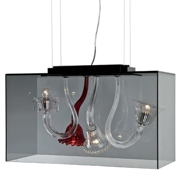 Curiosity Cabinet Suspension by Av Mazzega | 10003/04-CRRDGD