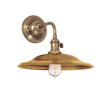 Heirloom MS2 Wall Light by Hudson Valley Lighting | 8000-AGB-MS2