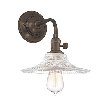 Heirloom GS6 Wall Light by Hudson Valley Lighting | 8000-OB-GS6