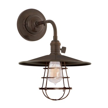 Heirloom MS1-WG Wall Sconce by Hudson Valley Lighting | 8000-OB-MS1-WG
