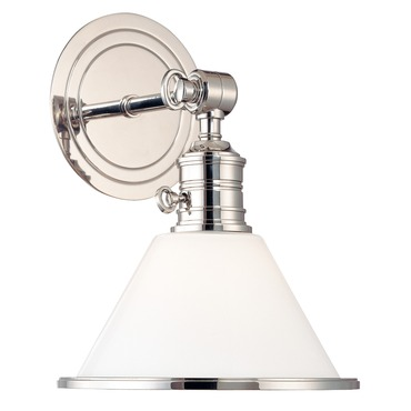 Garden City Wall Light by Hudson Valley Lighting | 8331-PN