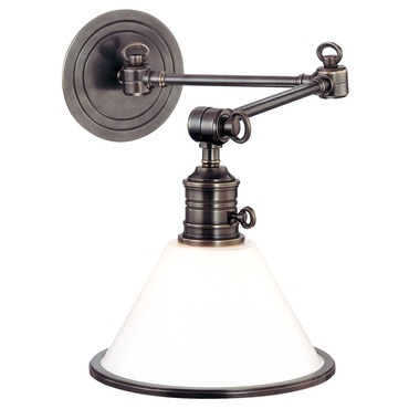 Garden City Swing Arm Wall Sconce
