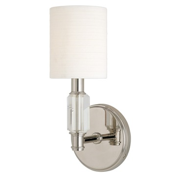 Glacier Wall Sconce by Hudson Valley Lighting | 6121-PN
