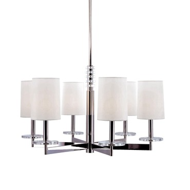 Chelsea Chandelier by Hudson Valley Lighting | 8806-PN