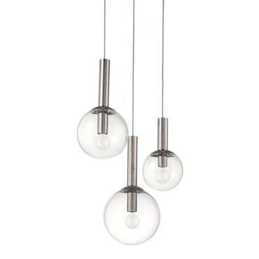 Bubbles 3-Light Pendant