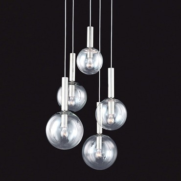 Bubbles 5 Light Pendant by Sonneman A Way Of Light | 3765.35