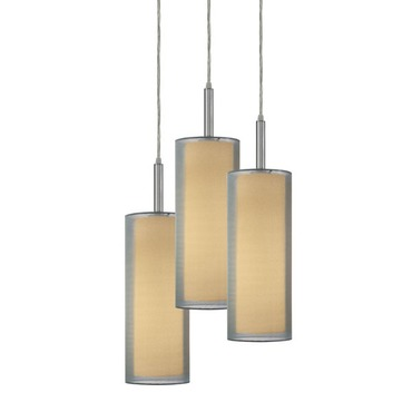 Puri 3-Light Pendant by SONNEMAN - A Way of Light | 6003.13F
