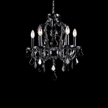 Onyx Lane Chandelier by Avenue Lighting | HF1037-BLK