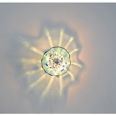 Celestial Wall Sconce by Viz Glass   WIR-4576EGS