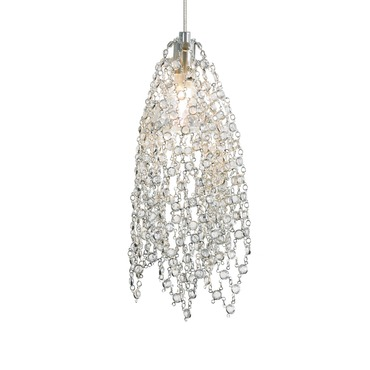 FSJ Halogen Mademoiselle No.1 Pendant by LBL Lighting | HS678CCSC1AFSJ