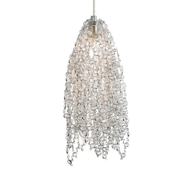 FSJ Mademoiselle No. 2 Pendant by LBL Lighting | HS686CCSC1AFSJ