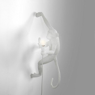 The Monkey Hanging Outdoor Wall Sconce