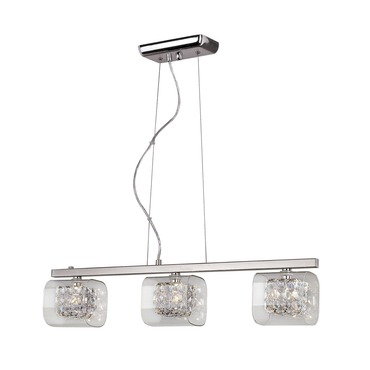 Block Crystal Linear Pendant