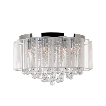Veiled Flush Mount by Trans Globe | MDN-1138