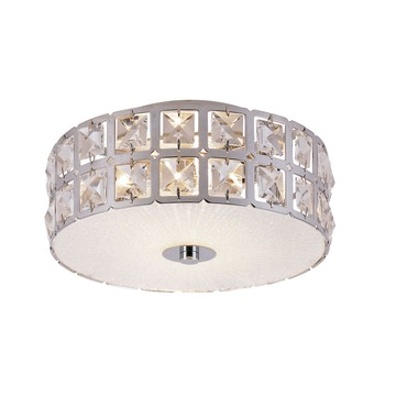 Sunburst Round Flush Mount Ceiling