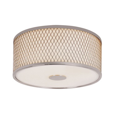 Diamond Grill Flush Mount Ceiling by Trans Globe | 10140 PC