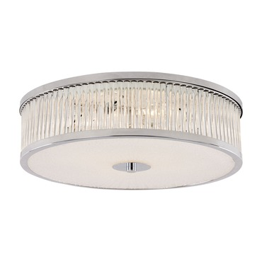Crystal Sun Round Flush Mount Ceiling