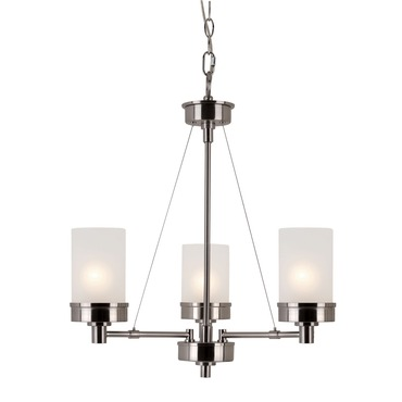 Urban Swag 3-Light Chandelier