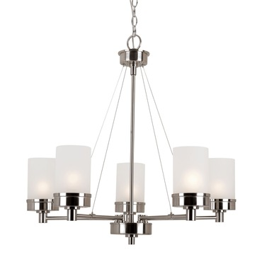 Urban Swag 5-Light Chandelier by Trans Globe | 70338 BN