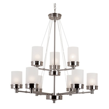 Urban Swag 2-Tier Chandelier by Trans Globe | 70339 BN