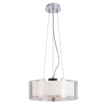 Opal Chrome Pendant by Trans Globe | 2092 PC