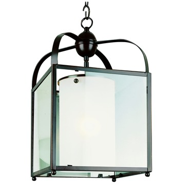 Glass Box Wide Pendant