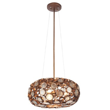Fascination Round Chandelier by Varaluz | 165C03SHO
