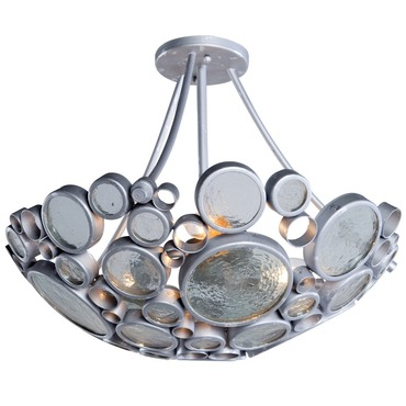 Fascination Semi Flush Ceiling Light by Varaluz | 165S03