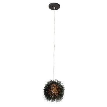 Urchin Uber Mini Pendant by Varaluz | 169M01SBL