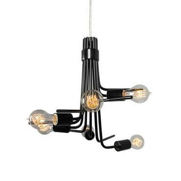 Socket To Me Chandelier by Varaluz | 219C06BL