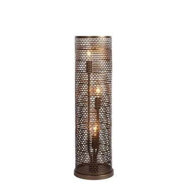 Lit Mesh Test Table Lamp by Varaluz | 231T03NB