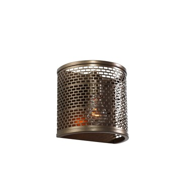 Lit Mesh Test Wall Sconce