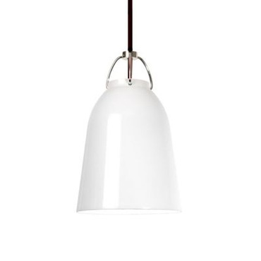 Vessel 10 Metal Shade Pendant by Edge Lighting | VESS-S-10-WH