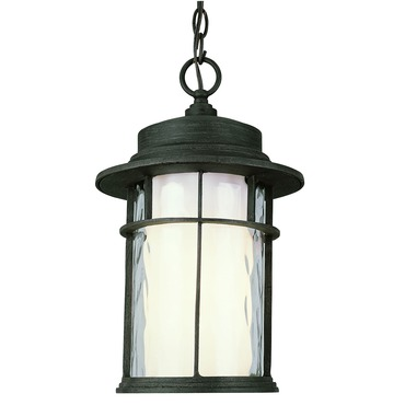 Opal Chimney Outdoor Hanging Lantern